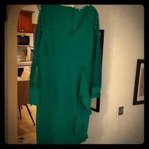 Emerald green dress worn once to a wedding